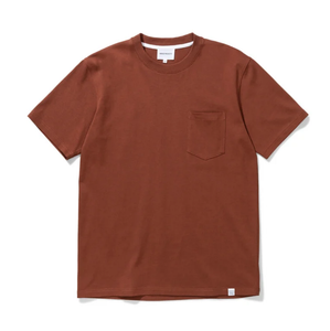 Norse Projects - Johannes Pocket SS - Madder Brown