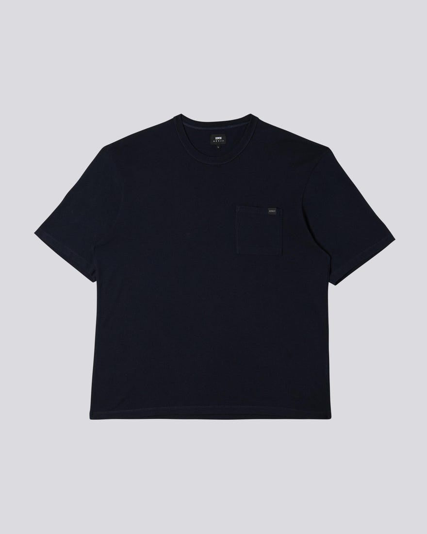Edwin - Oversized Pocket TS - Navy