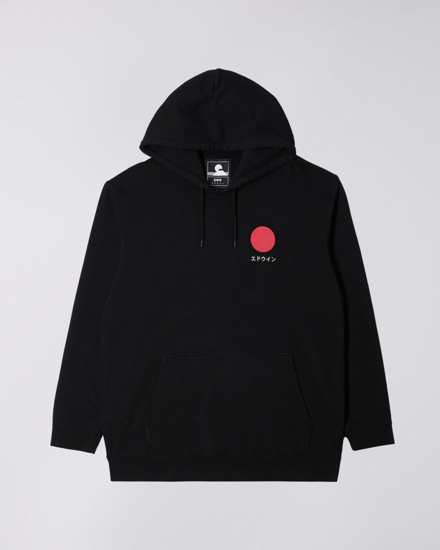 Edwin - Japanese Sun Hoodie Sweat - Black