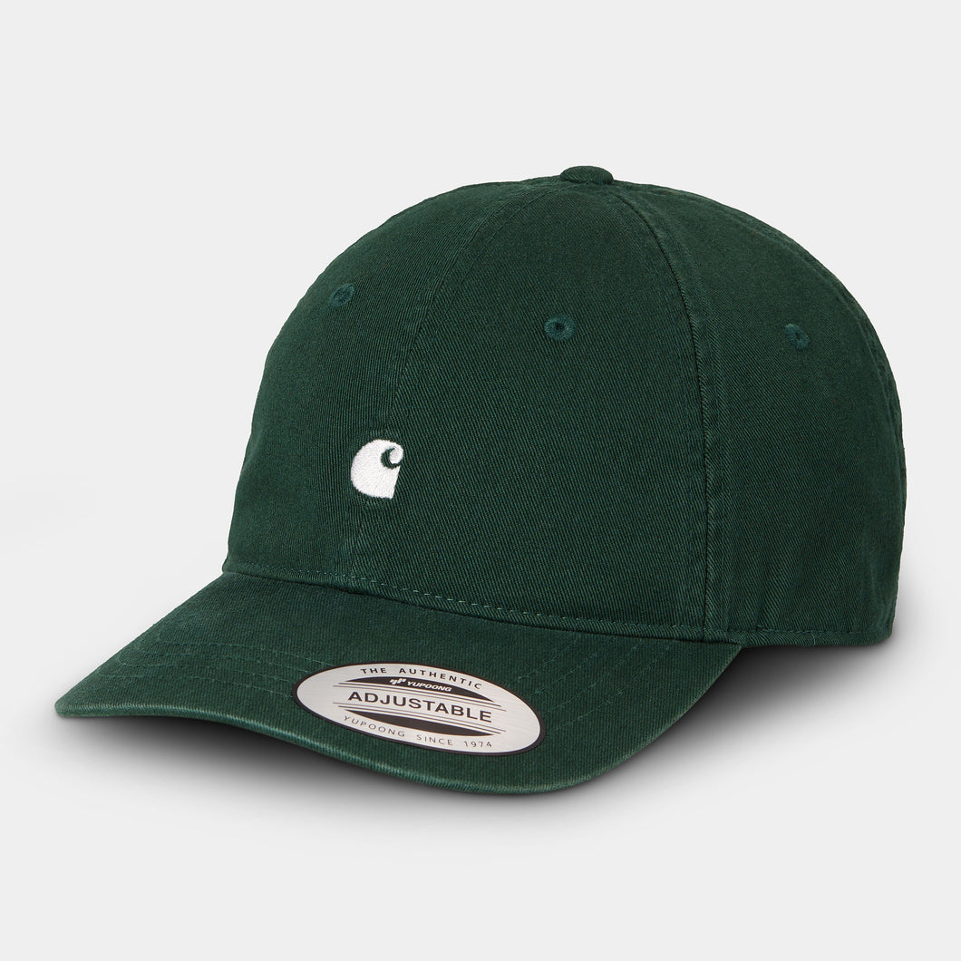 Carhartt - Madison Logo Cap Cotton Twill - Bottle Green/Wax