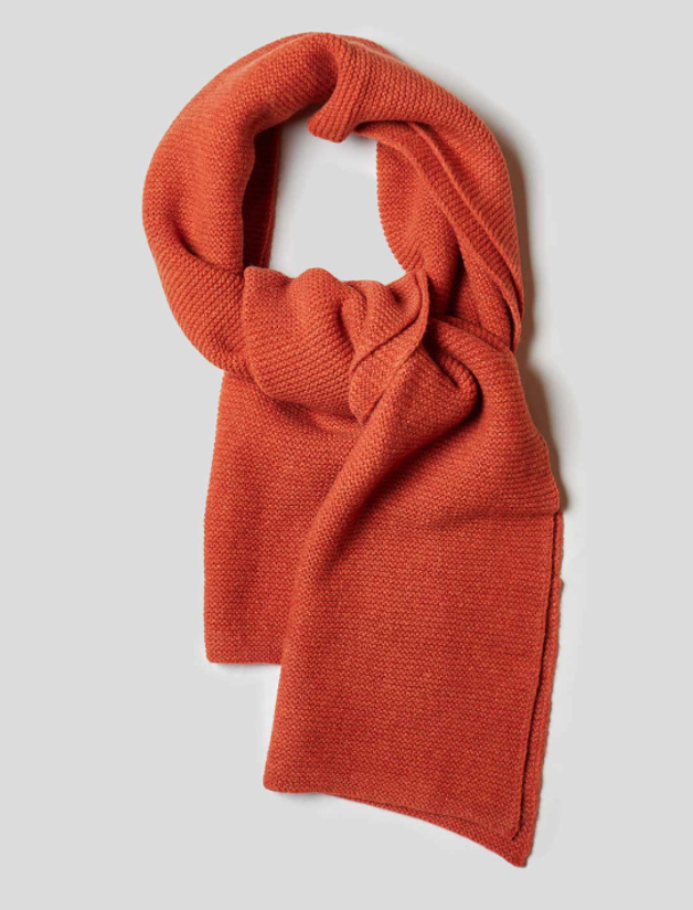 Nigel Cabourn - Solid Scarf -Burnt Orange