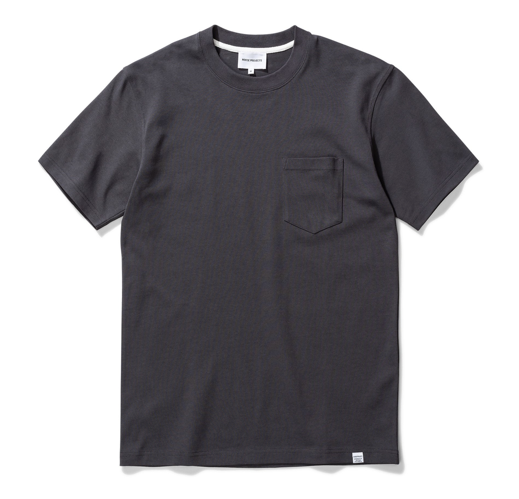 Norse Projects - Johannes Pocket SS - Slate Grey