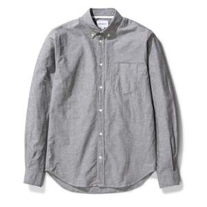 Norse Projects - Osvald BD Cotton Linen - Beech Green