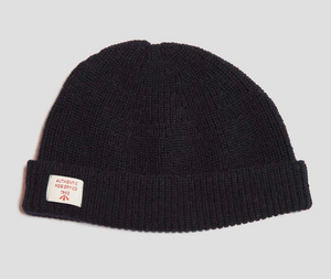 Nigel Cabourn - Solid Beanie - Black Navy
