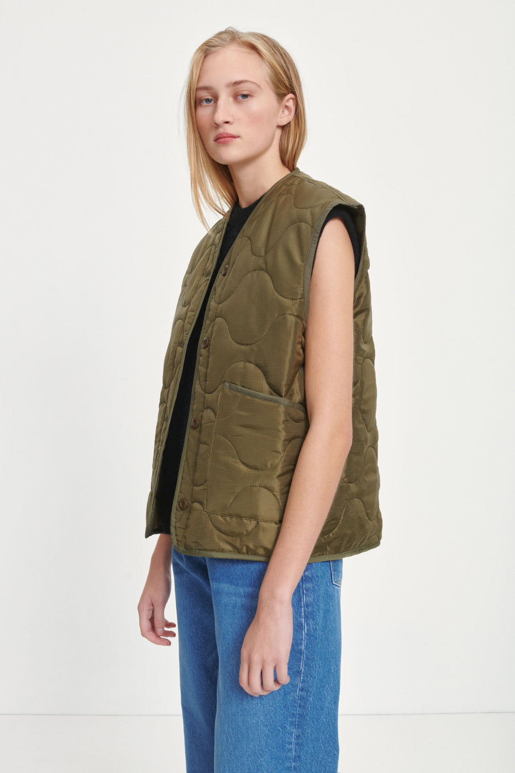 Samsøe - Amazon Vest - Dark Olive