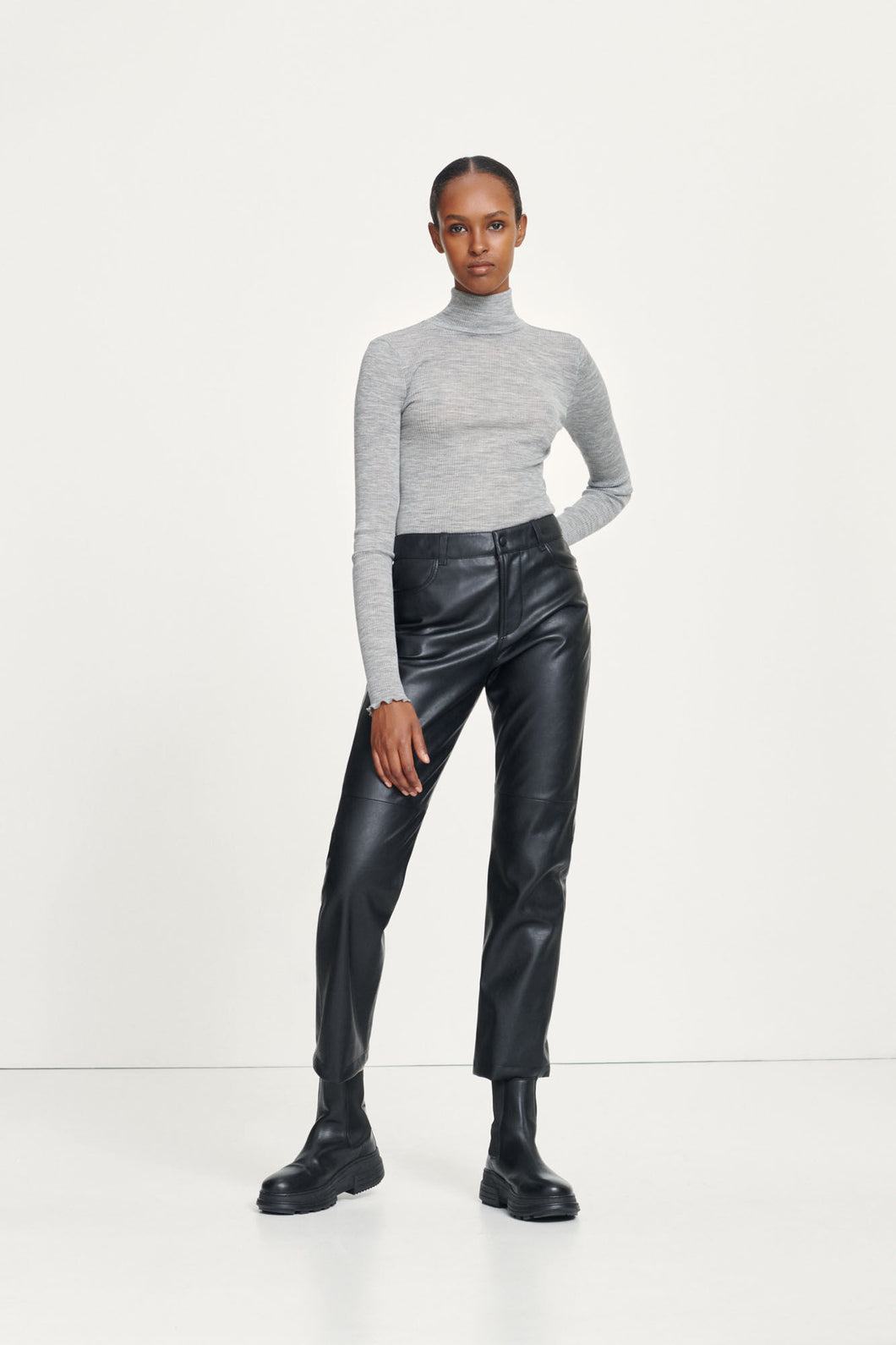 Samsøe - Vestine Trousers - Black