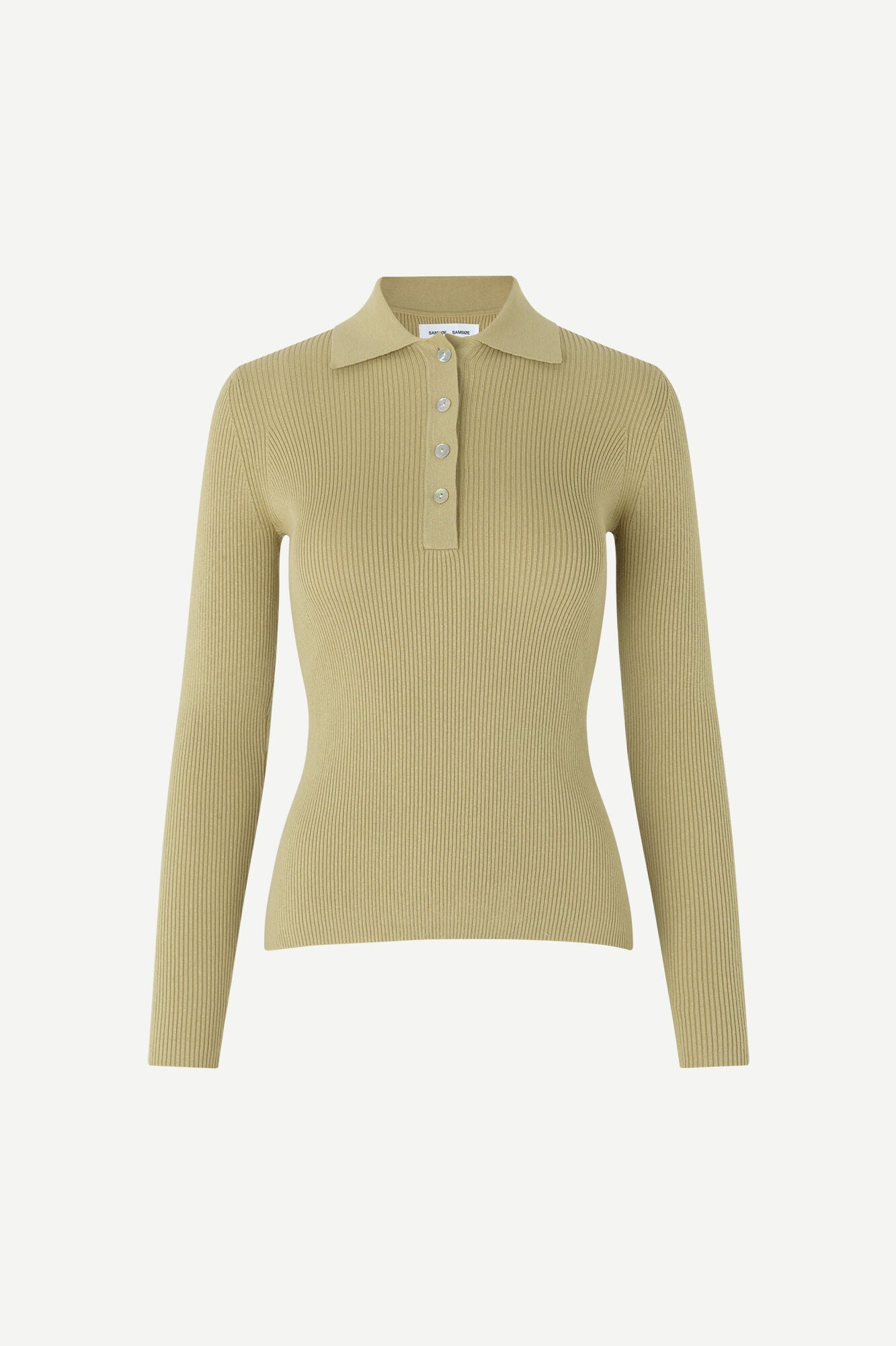 Samsøe Samsøe - Everly Polo - Sage Green
