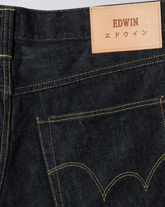 Edwin - ED55 14oz Red Listed Selvage Denim - Rinsed