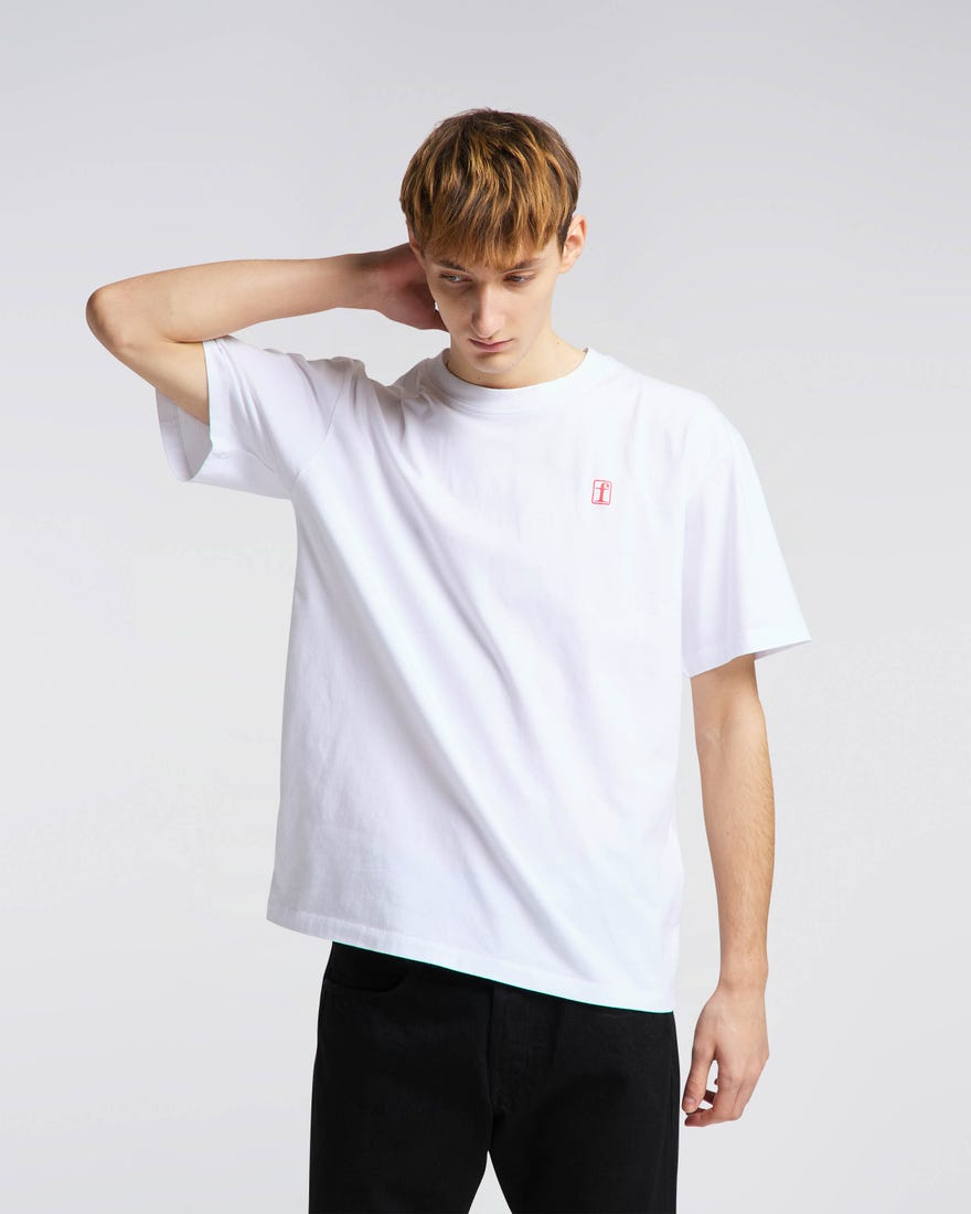 Edwin - Fortress Collage I TS - White