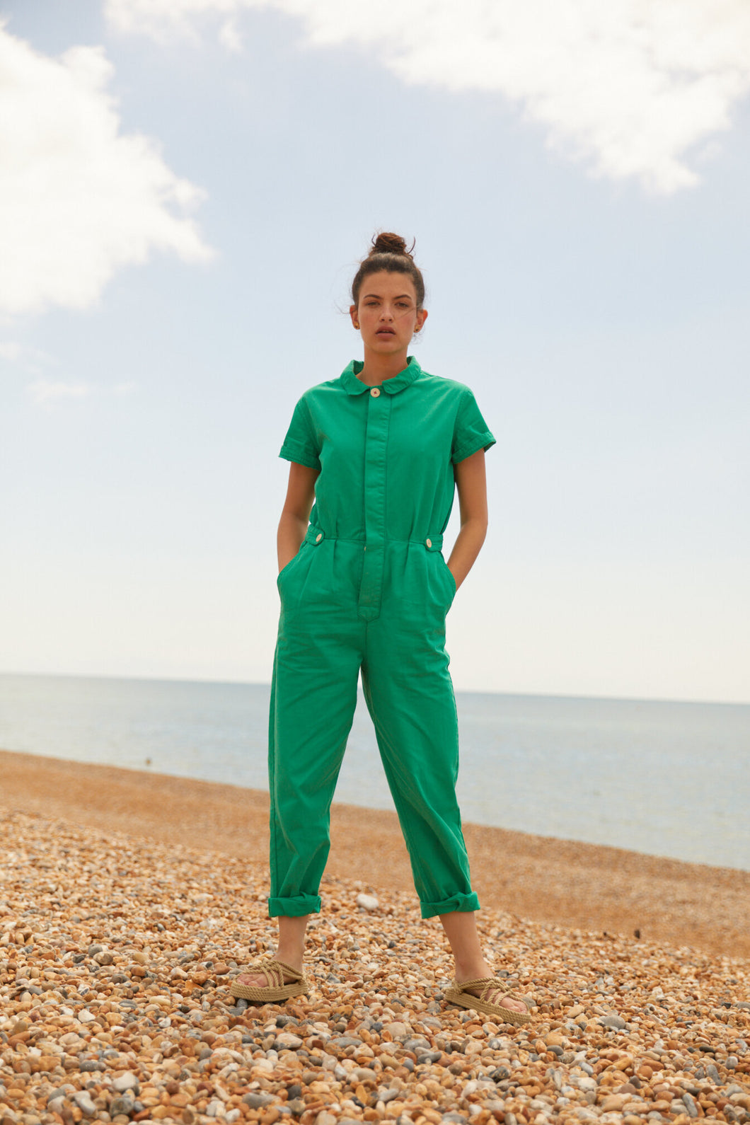 Sideline - Patti Boilersuit - Green