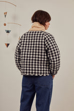 Load image into Gallery viewer, Sideline - Edie Jacket - Check/Grey Marl Reversible