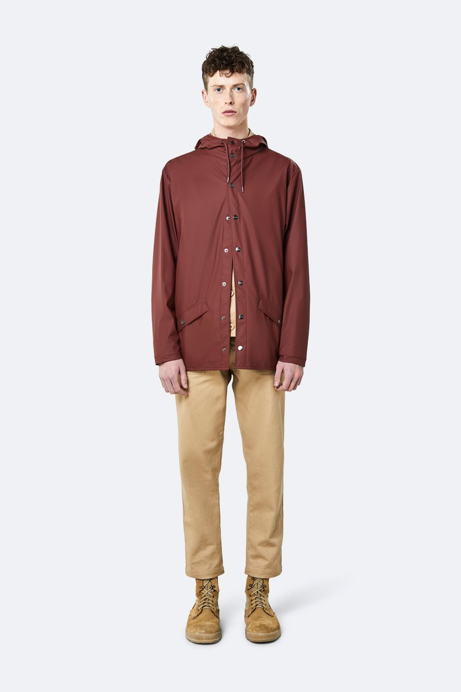 Rains - Jacket - Maroon