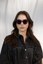 Load image into Gallery viewer, Monokel Eyewear - Neko - Clear Purple