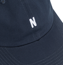 Load image into Gallery viewer, Norse Projects - Twill Sports Cap - Dark Navy