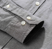 Load image into Gallery viewer, Norse Projects - Osvald BD Cotton Linen - Beech Green