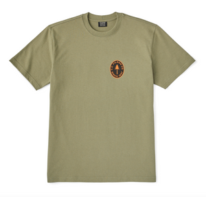 "Filson - S/S Outfitter Graphic T-Shirt ""Pine Tree"" - Burnt Olive"