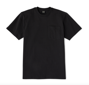 Filson - S/S Outfitter Pocket Tee - Faded Black