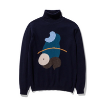 Load image into Gallery viewer, Norse Projects - Anja Lambswool x Mayumi Yamase - Dark Navy