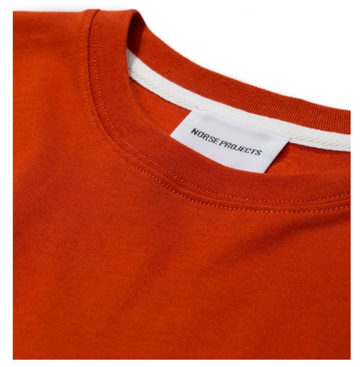 Norse Projects - Niels Standard SS - Industrial Orange