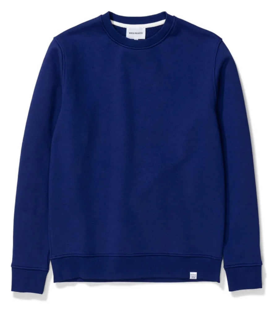 Norse Projects - Vagn Classic Crew - Ultra Marine