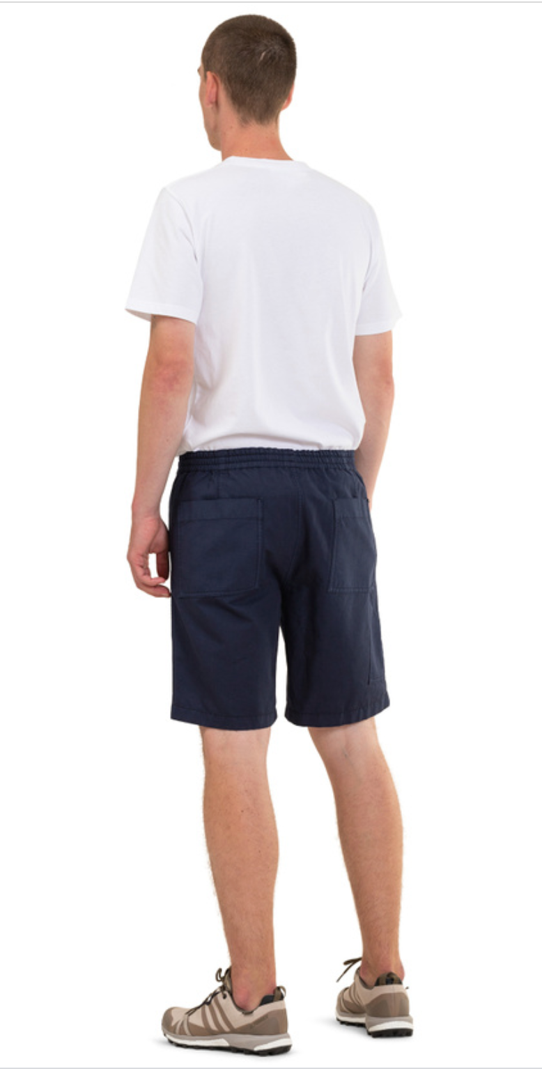Norse Projects - Evald Canvas Work Shorts - Navy