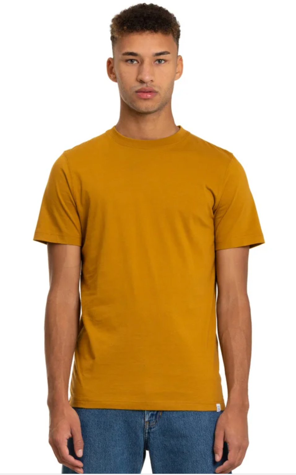 Norse Projects - Niels Standard SS - Oxide Yellow