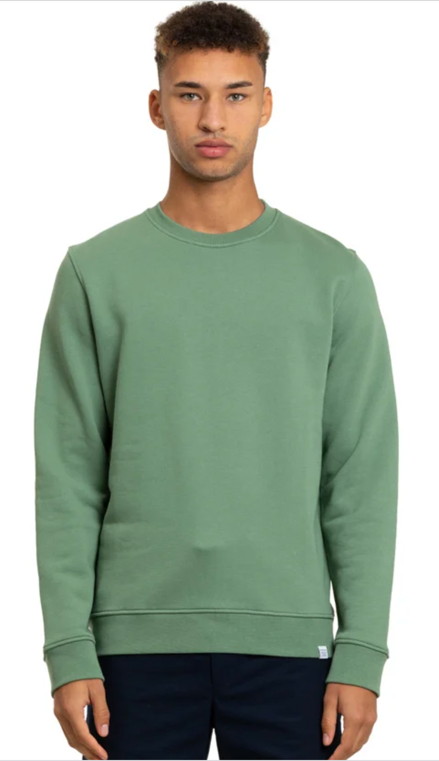 Norse Projects - Vagn Classic Crew - Lichen Green
