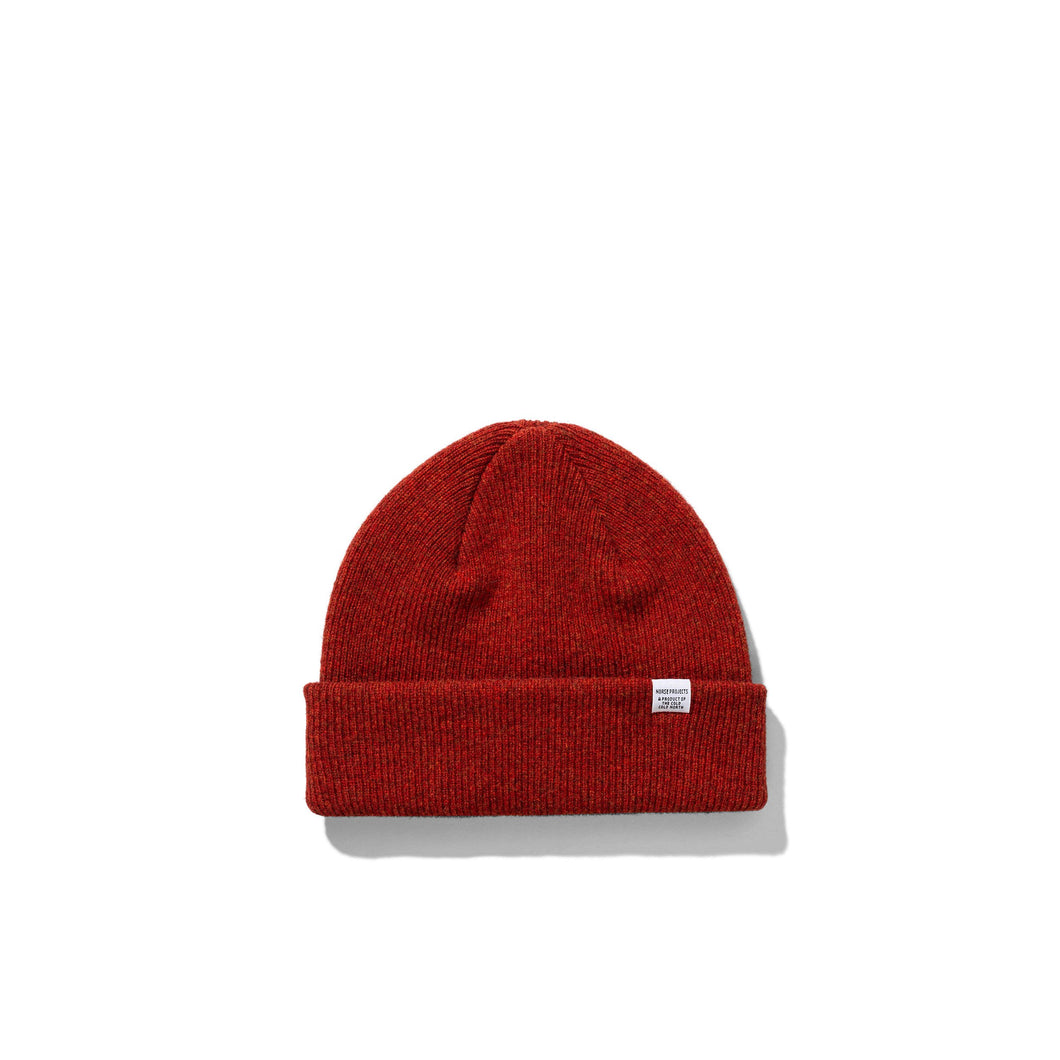 Norse Projects - Norse Beanie - Carmine Red