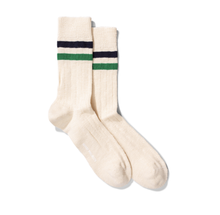 Load image into Gallery viewer, Norse Projects - Bjarki Slub Stripe - Sporting Green