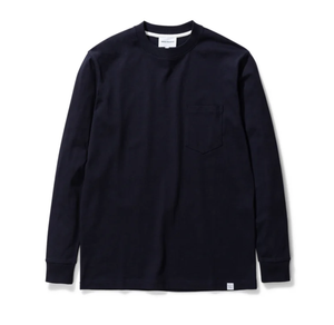 Norse Projects - Johannes Pocket LS - Dark Navy
