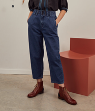 Load image into Gallery viewer, SIDELINE - Rosa Jeans - Indigo Recycled Denim