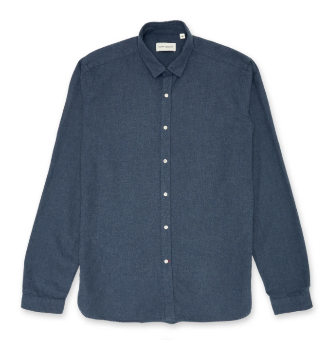 Oliver Spencer - Clerkenwell Tab Shirt - Woburn Navy