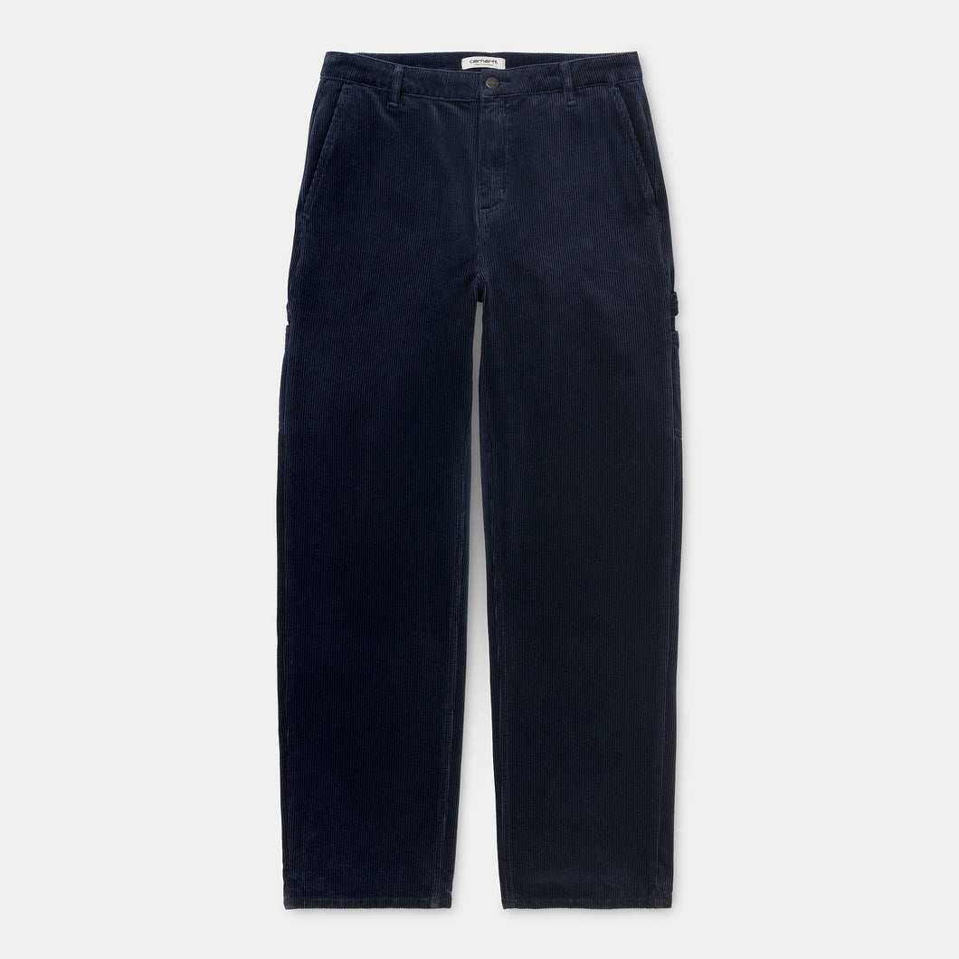 Carhartt - Pierce Pant Straight Stretch Corduroy - Navy (rinsed)