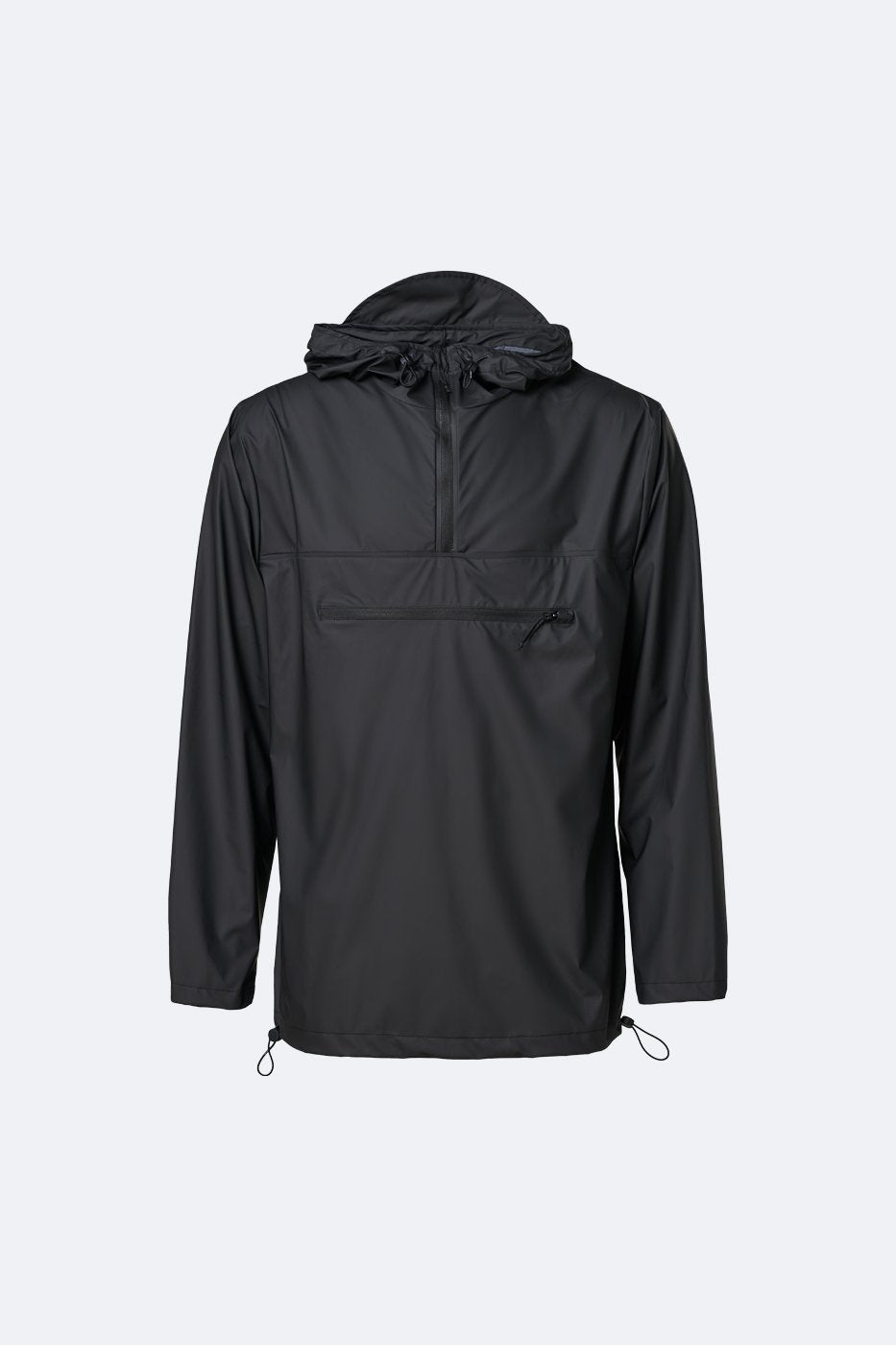Rains - Ultralight Zip Anorak - Black