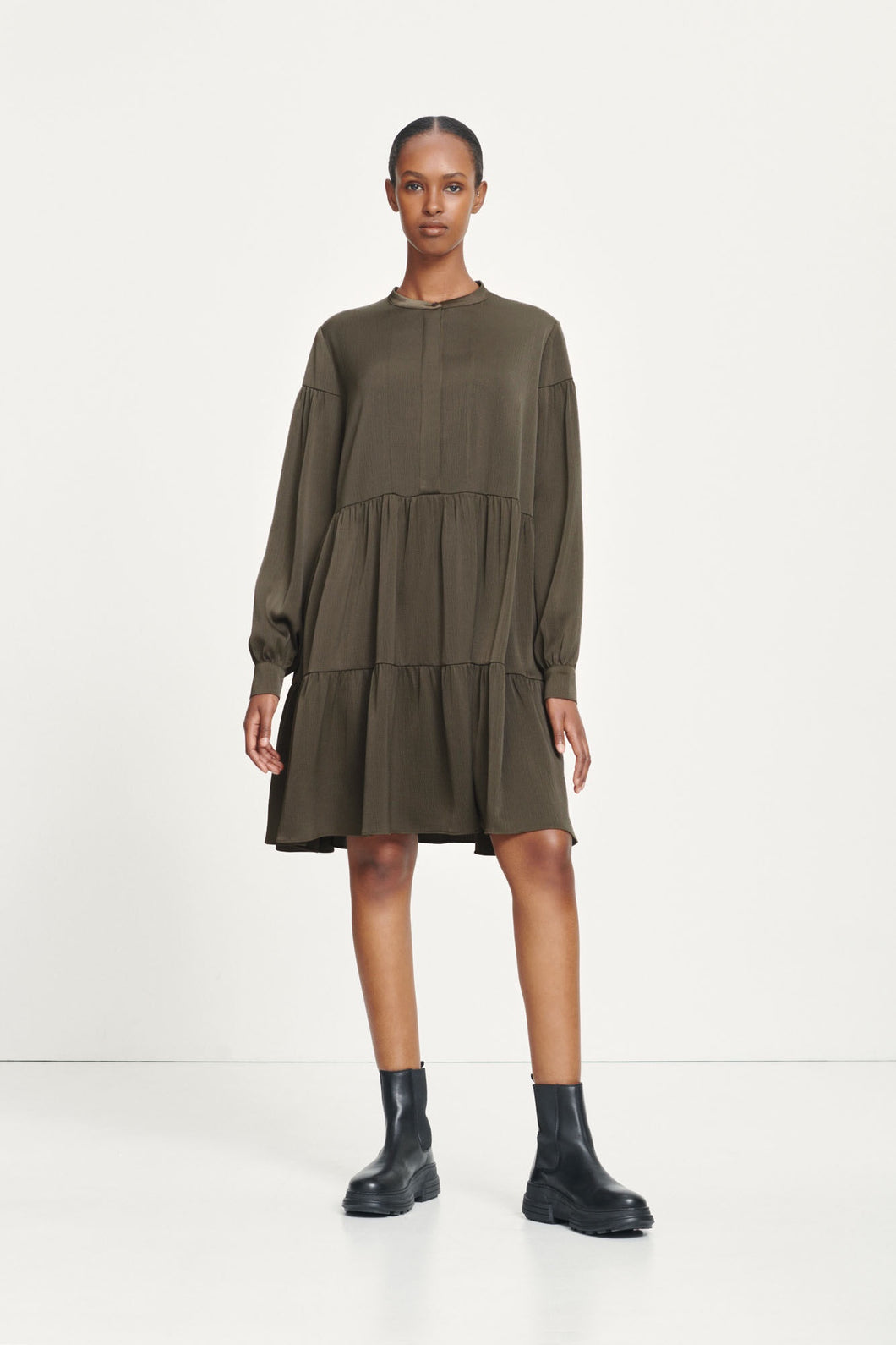 Samsøe Samsøe - Margo Shirt Dress - Black Olive