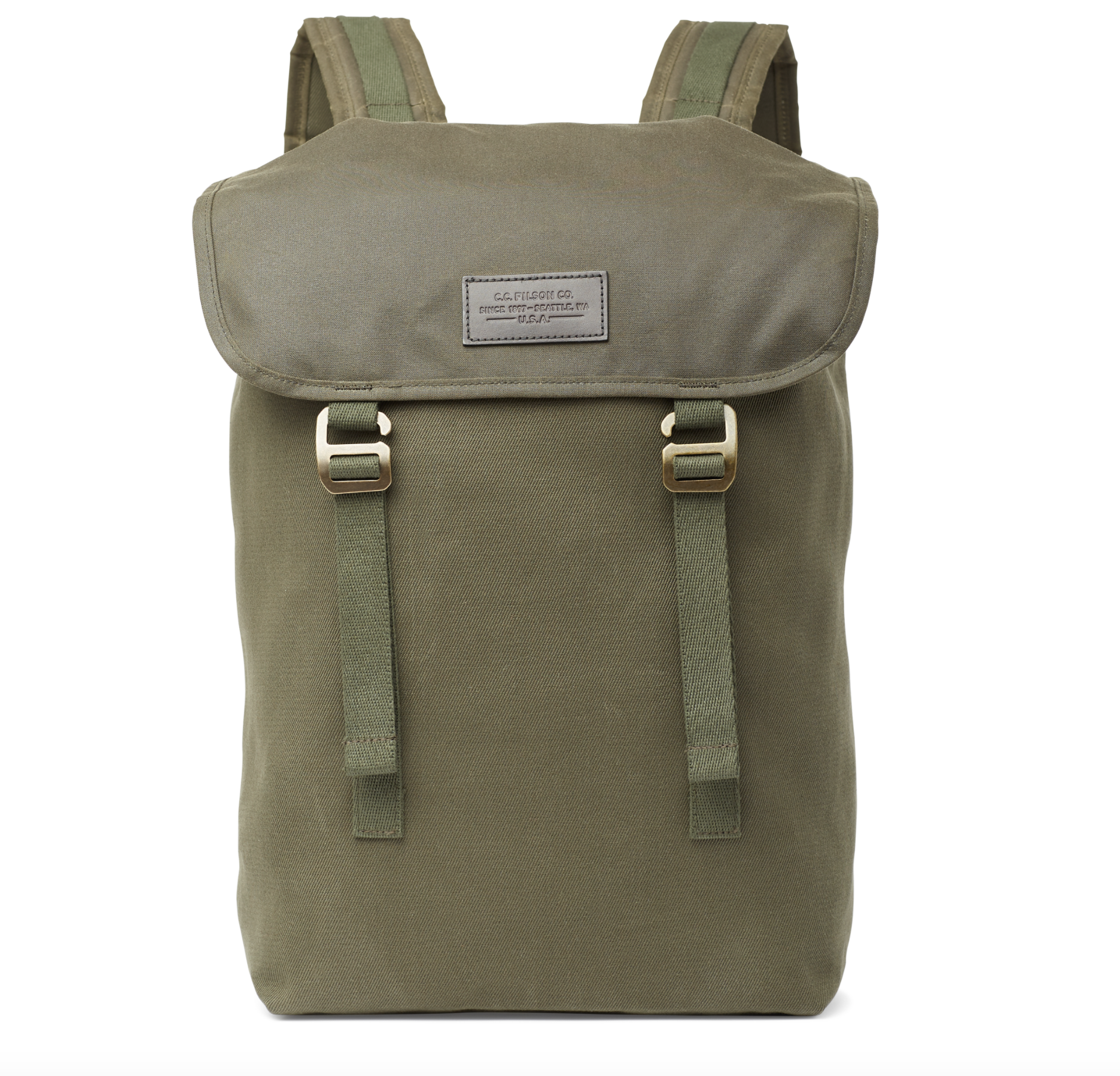 Filson - Rugged Twill Ranger Backpack - Otter Green