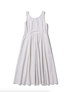 NORSE PROJECTS - Tora Seersucker Dress - Fine Stripe