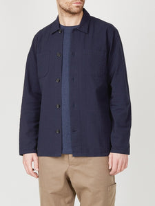 Oliver Spencer - Warham Shirt - Hattison Navy