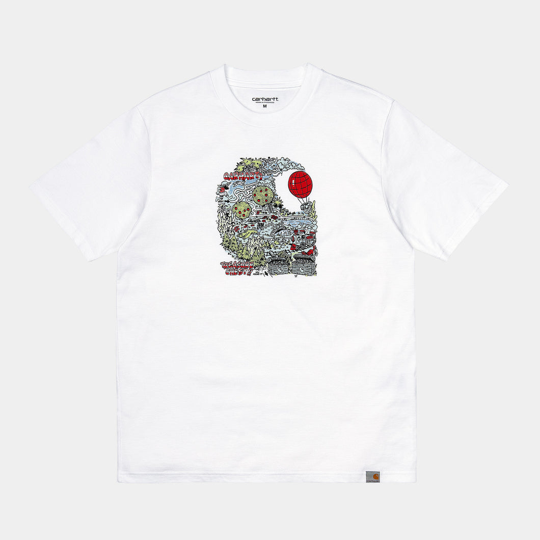 Carhartt - Treasure C T-Shirt - White