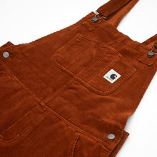 Load image into Gallery viewer, Carhartt - Bib Overall Straight Stretch Corduroy - Brandy (Rinsed)