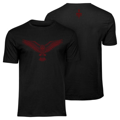 Wardruna - Raven Red T-shirt - Nordic Music Merch
