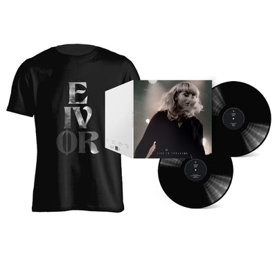 Eivør - Live in Tórshavn LP + T-Shirt Bundle - Nordic Music Merch