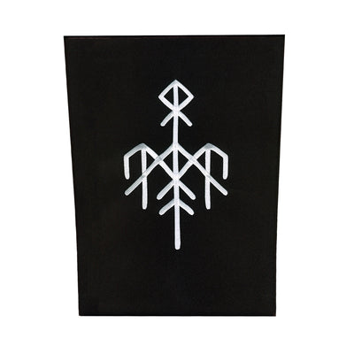 Wardruna - Logo Back Patch White - Nordic Music Merch