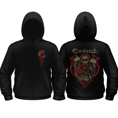 Enslaved - Viking Hooded Zip - Nordic Music Merch