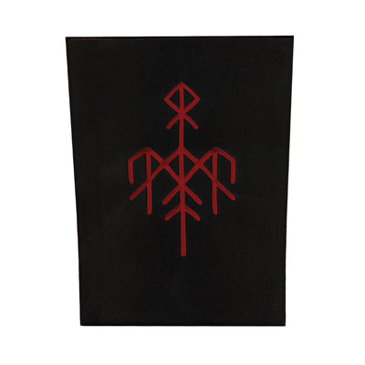 Wardruna - Logo Back Patch Red - Nordic Music Merch