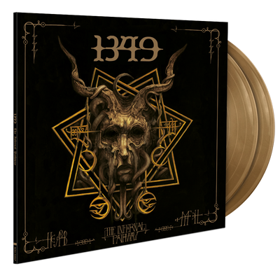 1349 - The Infernal Pathway- Artist exclusive 2LP - Gold - Nordic Music Merch