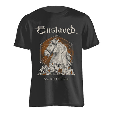 Enslaved - Sacred Horse T-Shirt - Nordic Music Merch