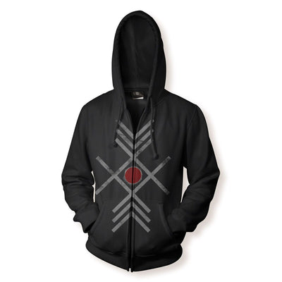 Enslaved - God Sun Zipper Hoodie - Nordic Music Merch