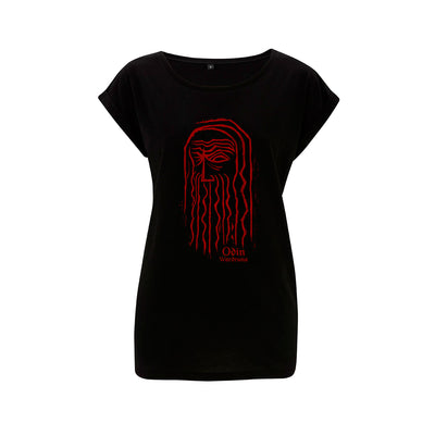 Wardruna - Odin Girlie Shirt - Nordic Music Merch