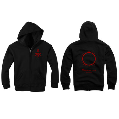 Wardruna - Logo Small Zipper Hoodie - Nordic Music Merch